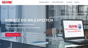 Umowa nawykonanie 3 landing page'y dla biura nieruchomości sieci REMAX
