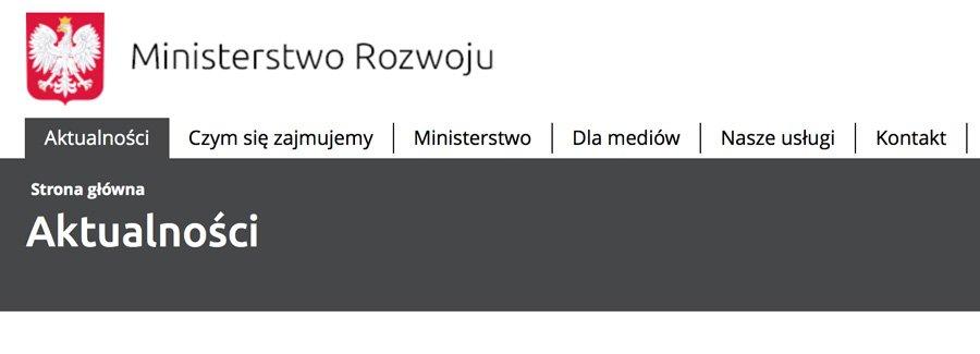 Współpraca z Ministerstwem Rozwoju i Premium Consulting