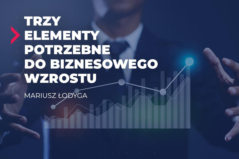 trzy elementy biznesowego wzrostu