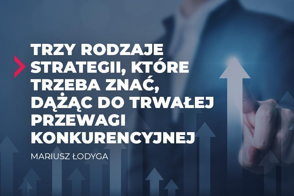 trzy rodzaje strategii
