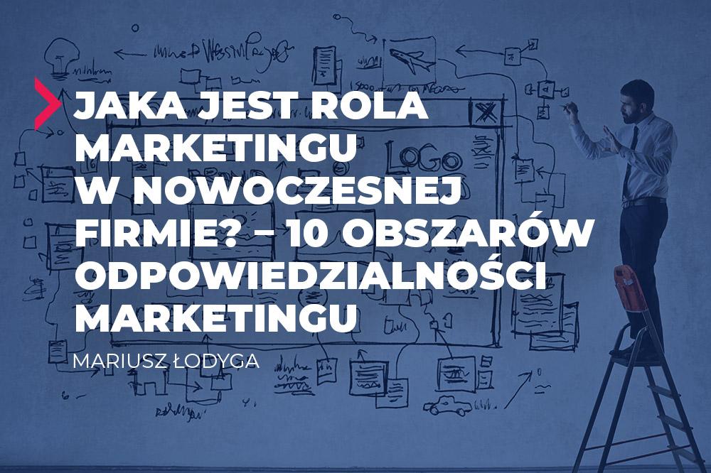 rola marketingu w nowoczesnej firmie